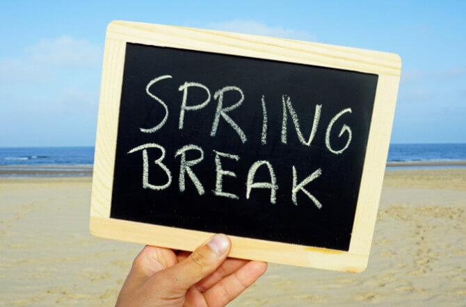 The Five Best Spring Break Vacations