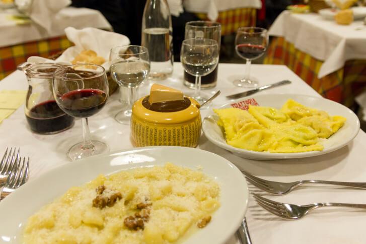 Italian Food Restaurants - Ristorante, Trattoria, and Osteria