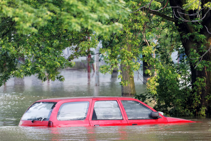 Am I Covered if My Car's Flooded?