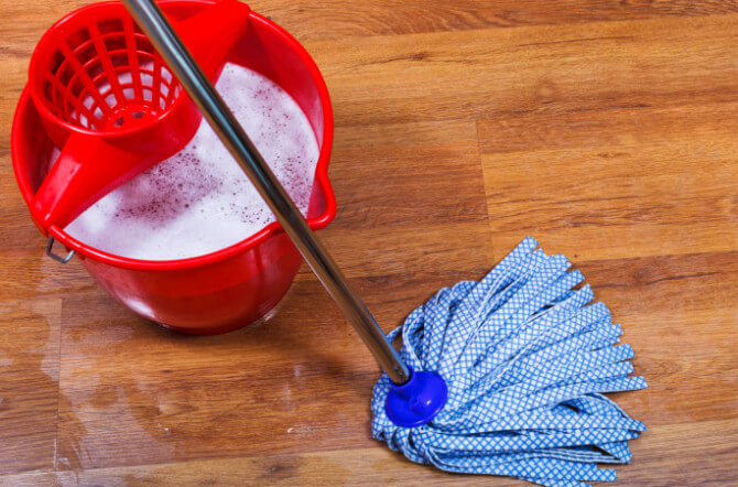 How to Deal with Hardwood Floor Water Damage