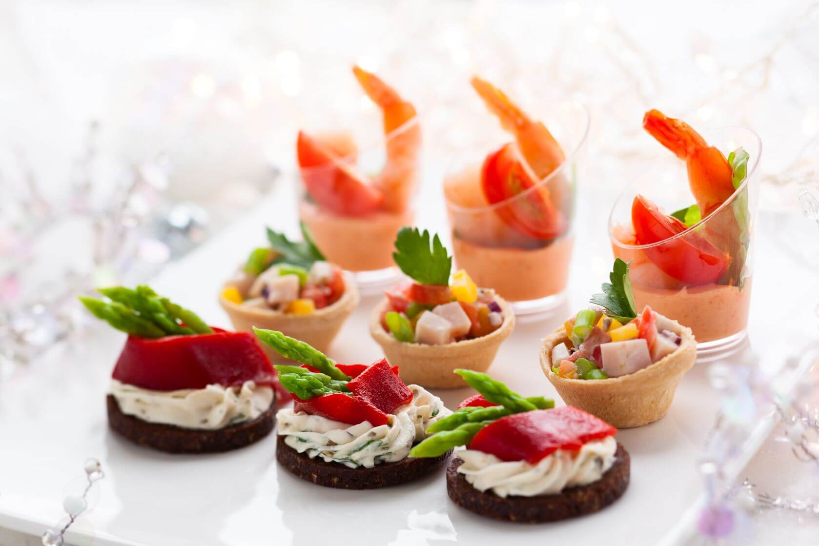 Christmas party food ideas enlighten me for Canape insurance