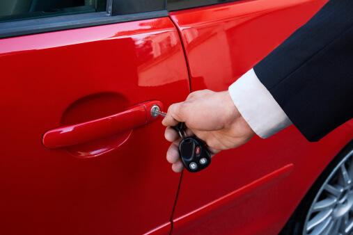 Unlocking car door