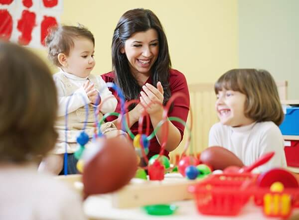 Daycare with children
