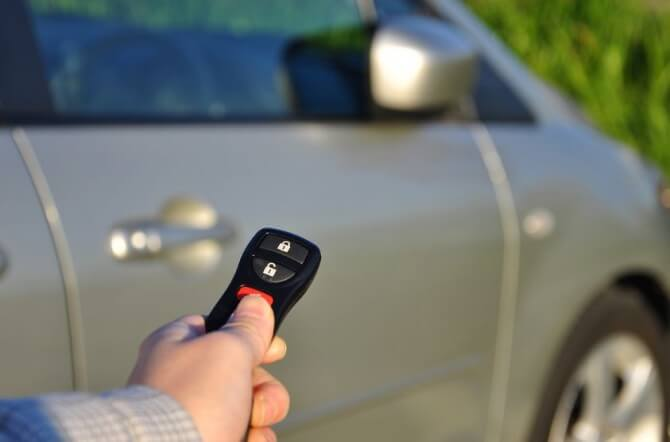 Car keyless entry