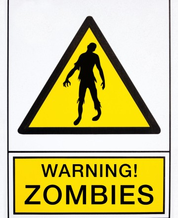 warning zombies signal