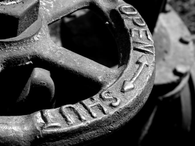 old water valve gragment