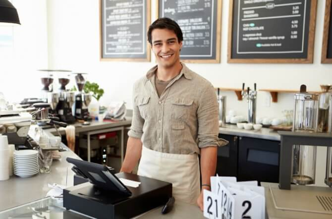 Owner Of Coffee Shop