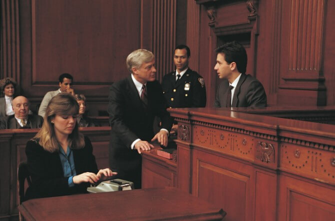 Court Reporter At Work