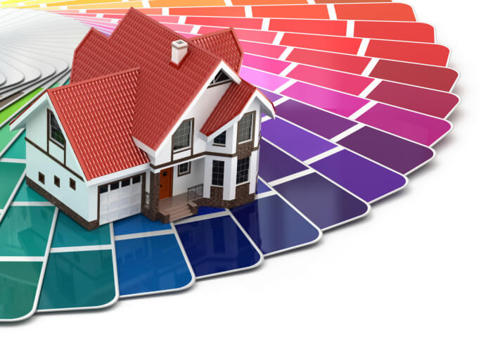 Find your color scheme tips for choosing exterior paint colors enlighten me - Exterior grade paint concept ...