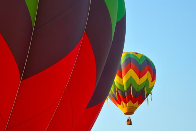 Air balloon.