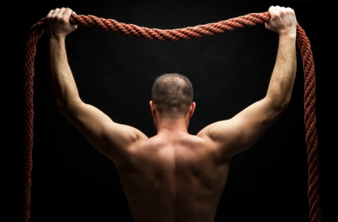 ropes cross - fit routine