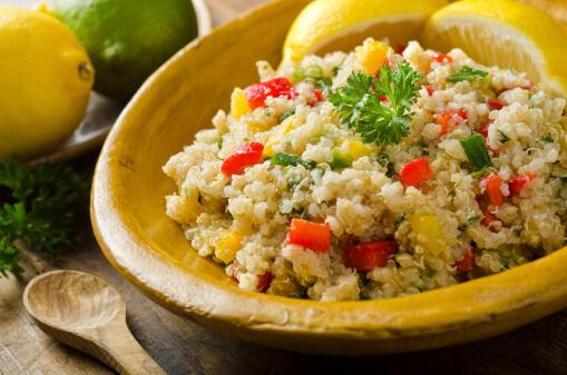 Gluten Free Cooking Basics - Quinoa Salad