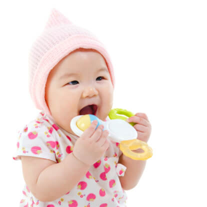 Baby Teeting Facts