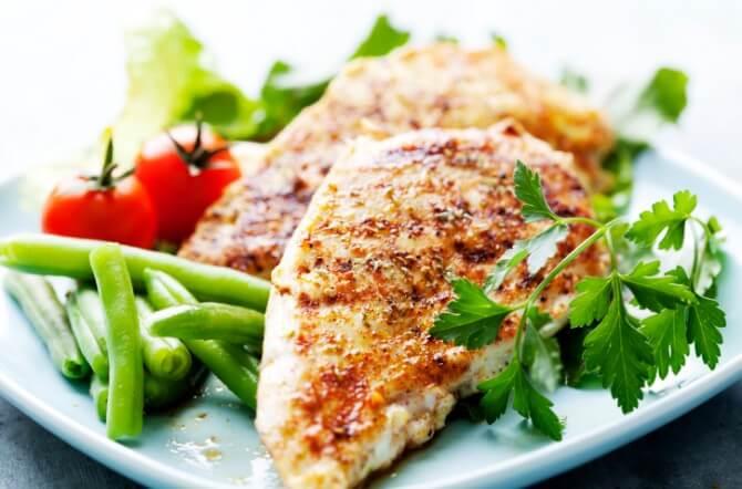grilled chicken breast fillet