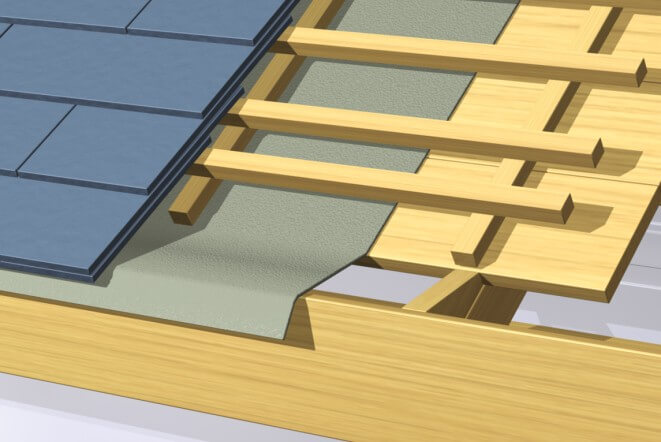 different phases of a roof
