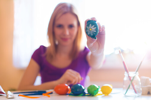 Best Easter Activities for Older Kids - Teenager with Easter Egg