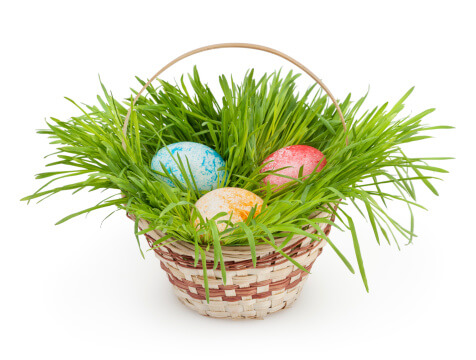 How 3 Familiar Easter Symbols Came to America - Easter Basket