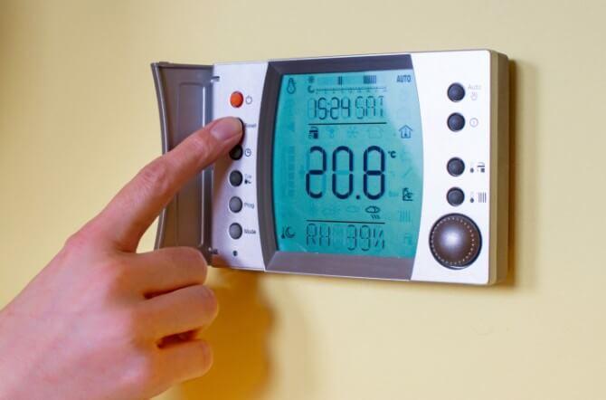 fancy thermostat