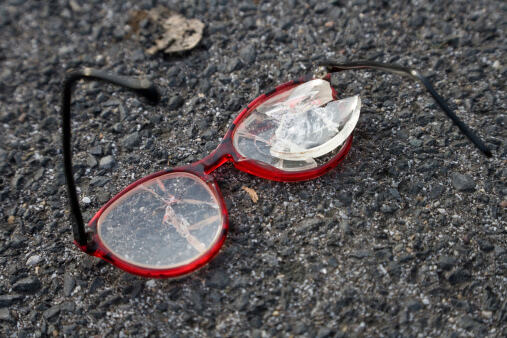4 Most Common Ways to Break Your Glasses...And How to Avoid Them