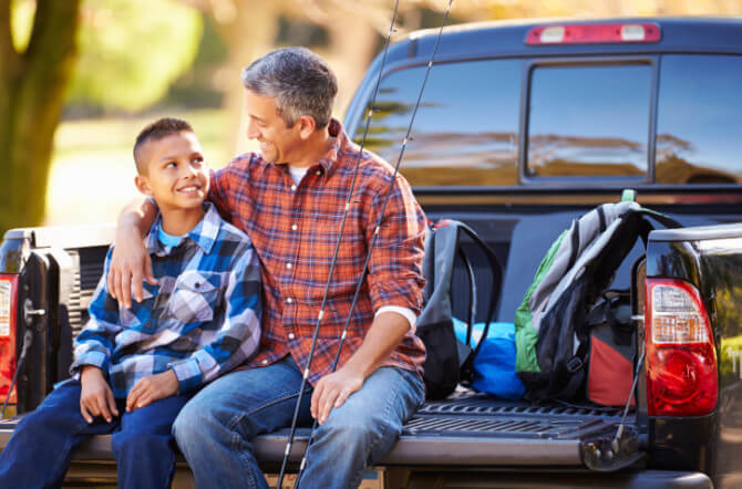 4 Ways to Be a Strong Male Role Model When Your Son Doesn't Live with You
