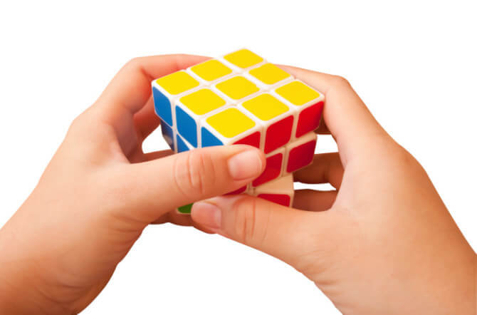 Nostalgic Father's Day Gifts for Dads Who Grew Up in the 70s and 80s - Rubik's Cube
