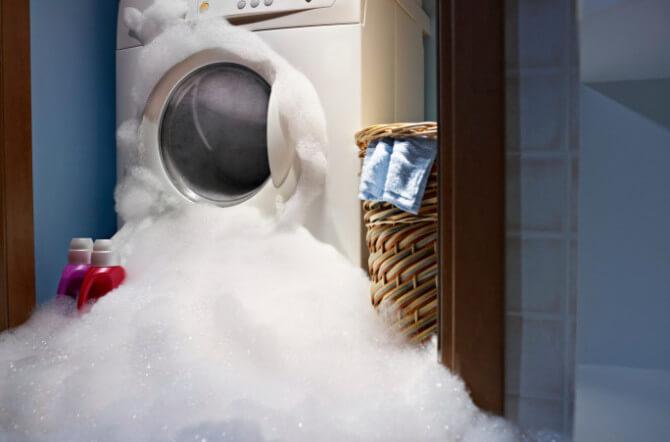 top 4 reasons your washing machine leaks water