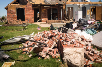 When Tornado Debris Damages Your Home's Exterior