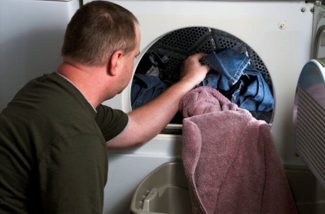 why your dryer leaves your clothes wrinkled or torn