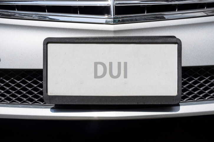 DUI License Plates- Drunk Drivers Aren't Anonymous