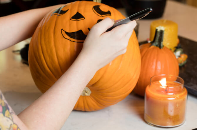 Pumpkins- 12 Terrific No-Carve Tips