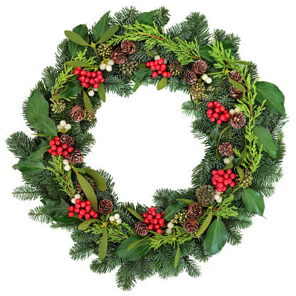 Boost Your Luck with a Feng Shui Wreath
